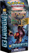 NIGHTFALL Pokemon TCG HS - Undaunted Theme Deck containing 60 Pokemon Cards and Bonus Booster Pack