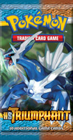 Pokemon HS TRIUMPHANT Booster Pack containing 10 Pokemon Cards