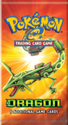 Pokémon-e Trading Card Game EX Dragon Booster Pack