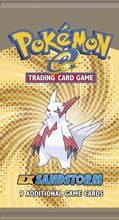 Pokémon-e Trading Card Game EX SandStorm Booster Pack