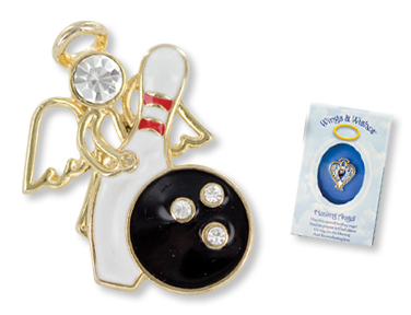 BOWLING Wings & Wishes Angel Tac Pin