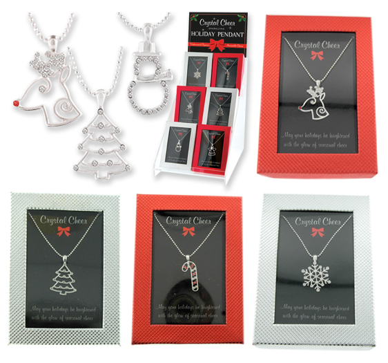 Crystal Cheer HOLIDAY Necklace