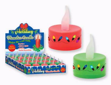 HOLIDAY FLAMELESS CANDLE