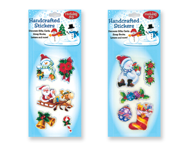 Handcrafted HOLIDAY Sticker Packs