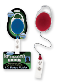 Retracto Badge Retractable ID Badge Holder