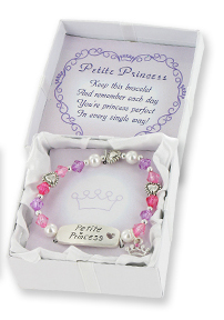 Special Princess Children's Stretch Charm Bracelet w/ Gift Box