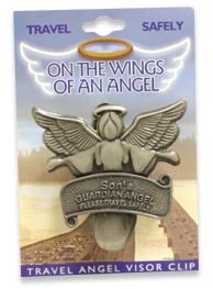 SON Travel Guardian Angel Visor Clip