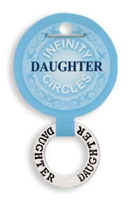 DAUGHTER Infinity Circles Pendant