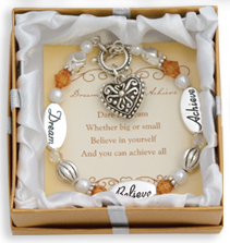 DREAM BELIEVE ACHIEVE Expressively Yours Bracelet