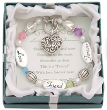 LOVE FRIEND FOREVER Expressively Yours Bracelet