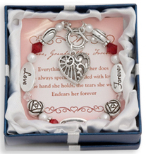 LOVE GRANDMOTHER FOREVER Expressively Yours Bracelet