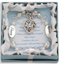 PEACE HOPE SERENITY Expressively Yours Bracelet