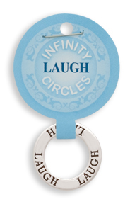 LAUGH Infinity Circles Pendant
