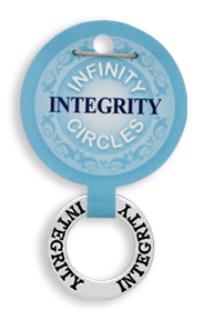 INTEGRITY Infinity Circles Pendant