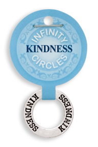 KINDNESS Infinity Circles Pendant