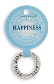 HAPPINESS Infinity Circles Pendant
