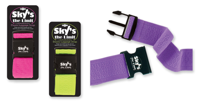 Sky's The Limit Elastic LUGGAGE Strap