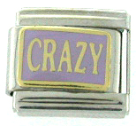 CRAZY Italian Charm - Available in 3 colors!