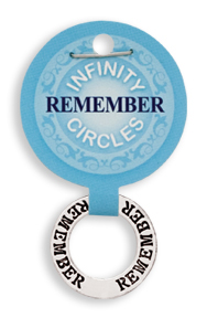 REMEMBER Infinity Circles Pendant