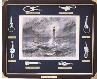 Knotboard with Lighthouse