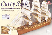 Cutty Sark Wooden Model Ship Kit by Constructo