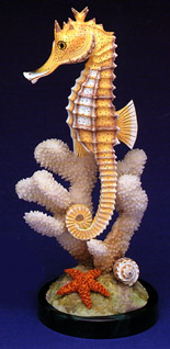 Seahorse Collectible by Nature Crafts