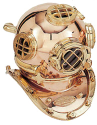 Full Size Reproduction Diving Helmet