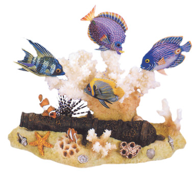 6 Fish Set by Nature Crafts
