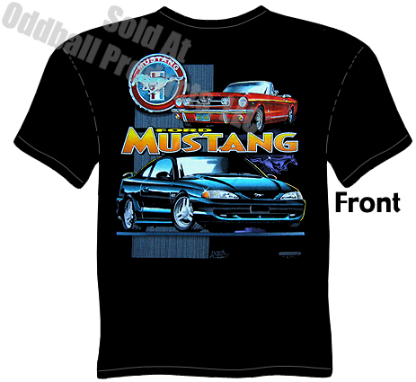 mustang ford mustang t shirt. Black Bedroom Furniture Sets. Home Design Ideas