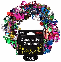 100th party decoration garland for 100th birthday decoration ideas