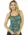 Green Buddha  Yoga Cami Tank Top