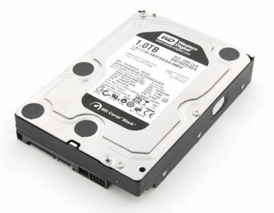 Western Digital Black 1TB 7200RPM 6.0Gb/s SATA3 Hard Drive