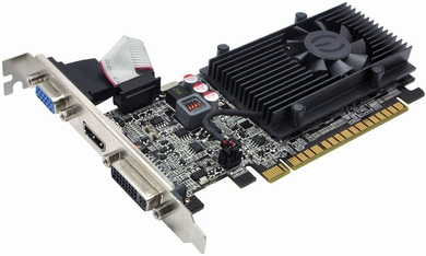 eVGA 01G-P3-2615-KR GeForce GT 610 PCI-E 2.0 x16 1GB Video Card