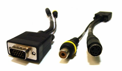 Monoprice SVGA to Composite (RCA) and S-Video Adapter
