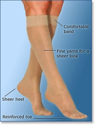Ultrasheer - <u>Knee High</u> - Extra Firm Compression - (30-40 mmHg)