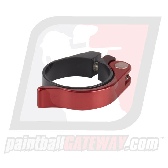 DISCONTINUED - Sanchez Machine CCM/Check It/SM1 Clamping Feed Neck Collar Assembly - Black/Red