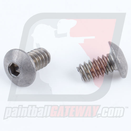 Screw - Button Head: 6-32 x 1/4 - 2 Pack - Stainless
