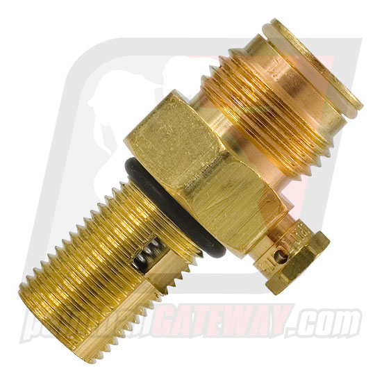 DISCONTINUED - Co2 Tank Valve Assembly - Brass