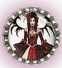 MIDIEVAL GOTHIC FAIRY PET ID TAGS