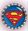 SUPERMAN PET ID TAGS