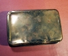 Antique brass box dated CHRISTMAS 1914.