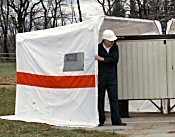 GMP 15285 TENT RC EXPANDABLE CABINET NEW