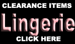 CLEARANCE LINGERIE ITEMS