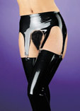 "Latex Garter Belt ""MI - 9007"""