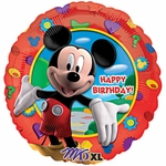 "17"" Mickey Clubhouse Birthday Helium Savers Balloon"