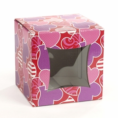Cube Box: Pattern Hearts