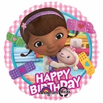 "17"" Doc McStuffins Happy Birthday Helium Savers Balloon"