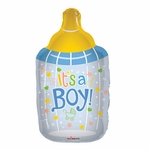 Baby Bottle Boy Shape Balloon