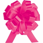 Medium Hot Pink Lacquer Pull Bow