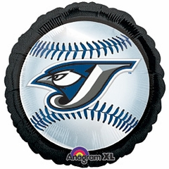 "18"" MLB Toronto Blue Jay Baseball Balloon"